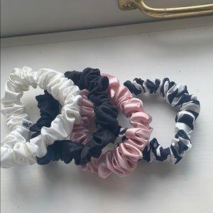 NWB Slip Pure Silk Scrunchies